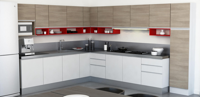 Altura muebles de cocina - Balau - Carpinteria de Madera Castellon